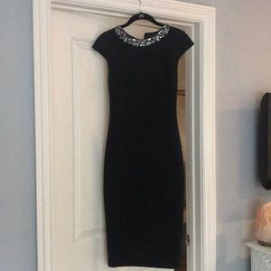 Ted Baker London Dresses - Black Satin Ted Baker Dress